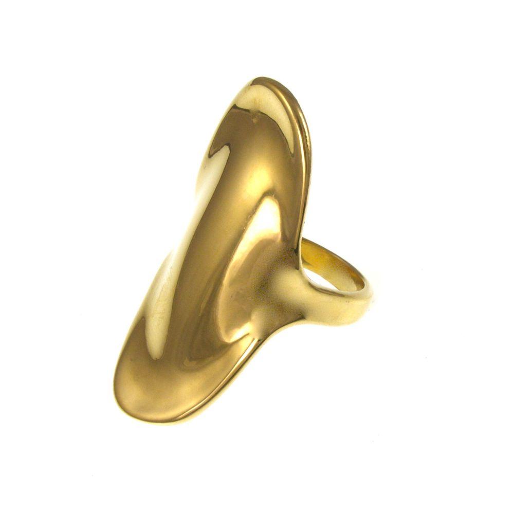 Gold Shield Ring