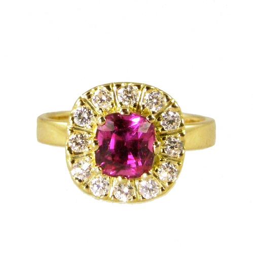 ruby ring 18carat