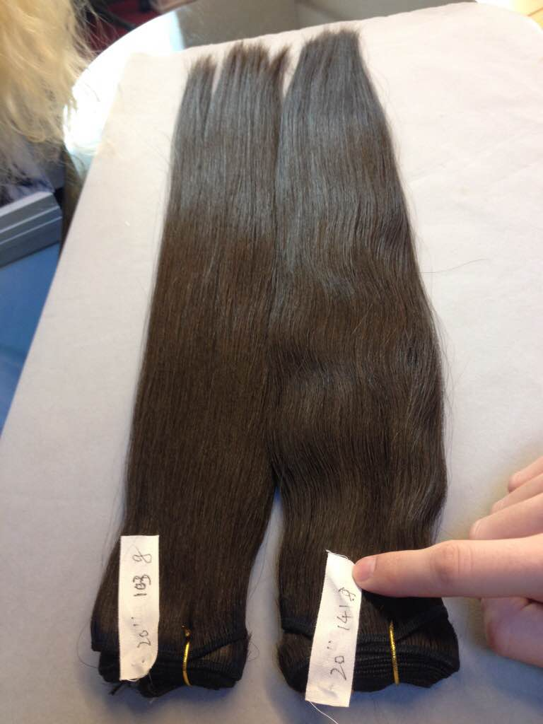 Double Drawn European Natural Remy Hair WEFT (Incl VAT) - 100 grams