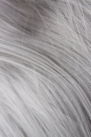 Silver Wefts straight - 18