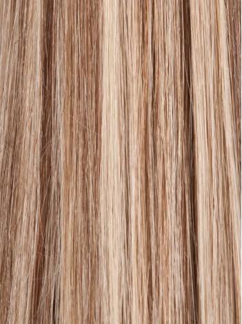 #6/22 Medium Brown & Beige Blonde Stick Tips 0.8g/Strands