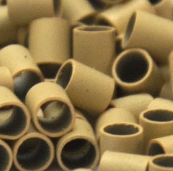 Mini Copper Tubes Links for use with Mini Bonds Hair Extensions - 3mm x 2.4mm x 3mm x qty 1000