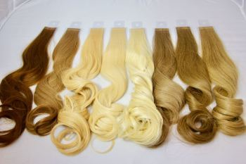 TAPE WEFT (European) Virgin Remy Hair Double Drawn - 40g