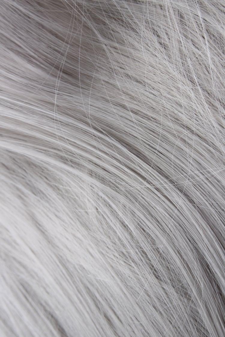 #Silver/Grey Stick Tips (Straight) 0.8g/Strands