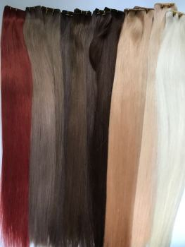 Russian & Mongolian - Wefts - Double Drawn - 50g