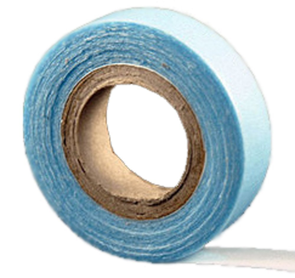 Double Sided Adhesive Tape Roll Blue - Tape 1/2 inch 3 Yards