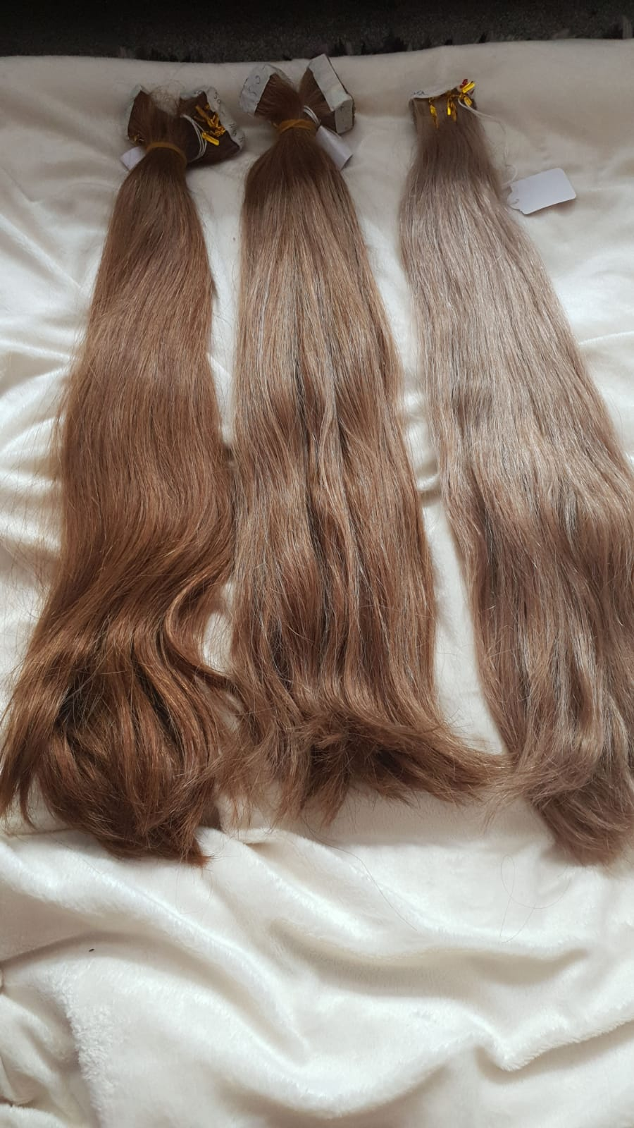 TAPE WEFT (Russian) Virgin Remy Hair (Incl VAT) - 50g DOUBLE DRAWN