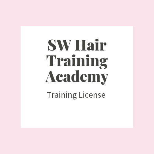 Hair Extensions Training License:- For the BRAND NEW BEGINNER (Train the Tr