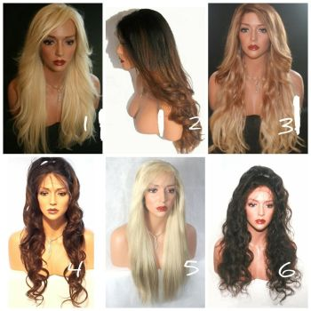 RUSSIAN HAIR | WIG COLLECTION Lace Front Wig.