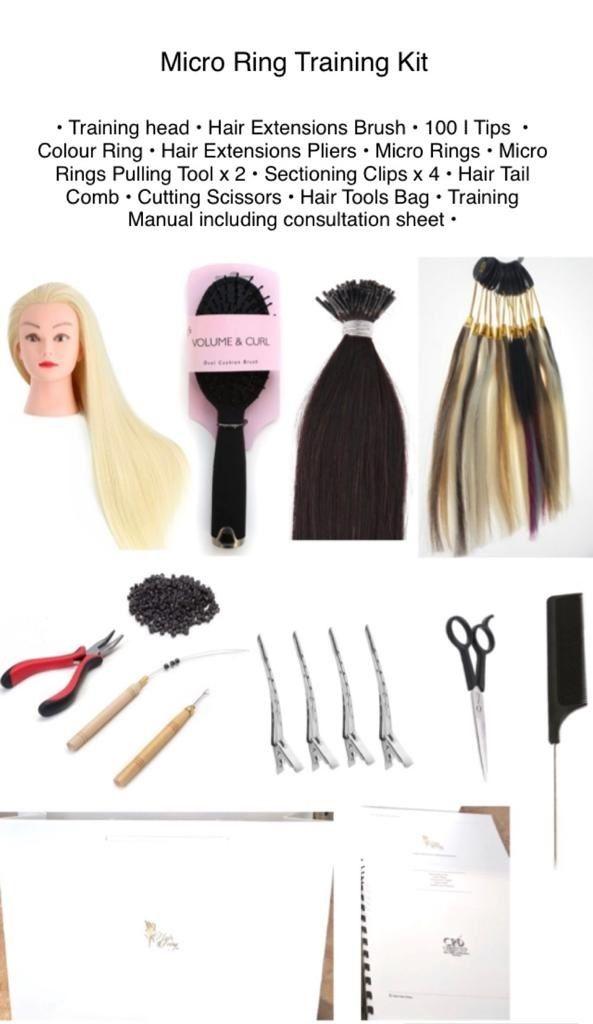 Hair Extensions Training Kits