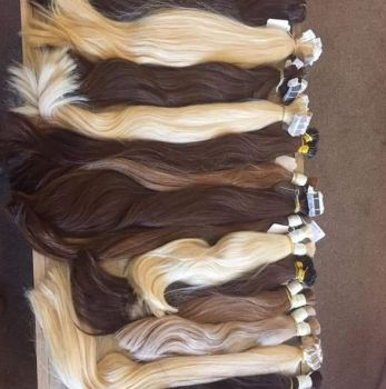 PREMIUM PURE Russian Hair - TAPE WEFT Virgin Russian Hair - 40g DOUBLE DRAWN