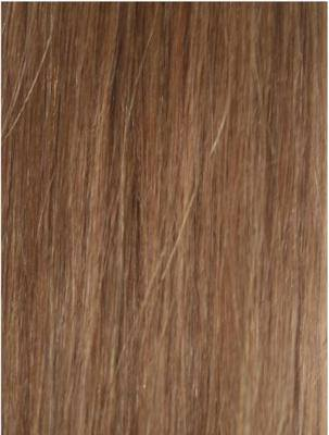 Colour #8 Light Brown Remy Elite Hair Clip-ins (Full head)