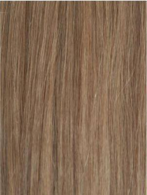 Colour #18 Light Ash Blonde Remy Elite Hair Clip-ins (Full head)