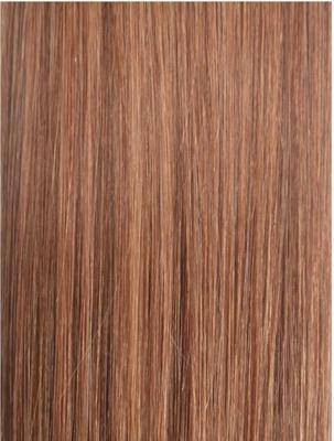Colour #30 Medium Auburn Remy Elite Hair Clip-ins (Full head)