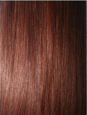 Colour #33 Dark Auburn Remy Elite Hair Clip-ins (Full head)