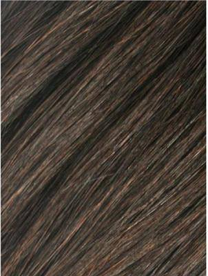 Colour #2 Darkest Brown Remy Elite Hair Clip-ins (half head)