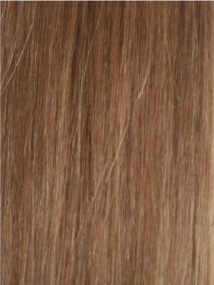 Colour #8 Light Brown Remy Elite Hair Clip-ins (half head)