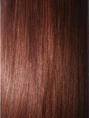 Colour #33 Dark Auburn Remy Elite Hair Clip-ins (half head)