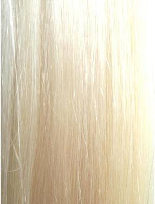 Colour #613 Bleach Blonde Remy Elite Hair Clip-ins (half head)