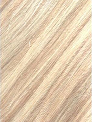Colour #18/613 Light Ash Blonde/Bleach Blonde Remy Elite Hair Clip-ins (hal