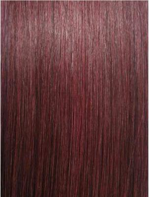 Colour #99j Plum Remy Elite Hair Clip-ins (half head)