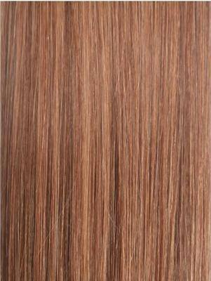 #30 Medium Auburn Wefts straight