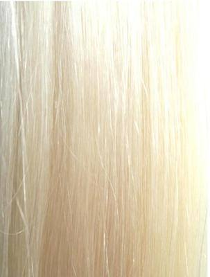#613 Bleach Blonde Wefts straight