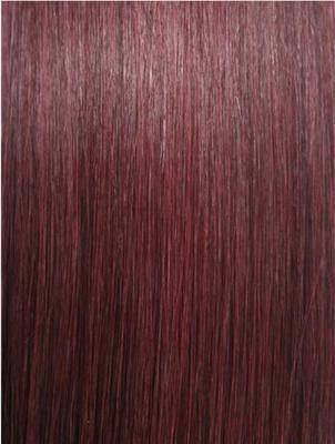 #99j Plum Wefts straight
