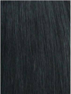 #1b Nearly Black Wefts straight