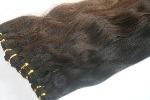 #1b Nearly Black Wefts straight - SPECIAL OFFER