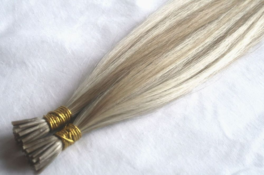 #18/613 Light Ash Blonde / Bleach Blonde Stick Tips (Straight)