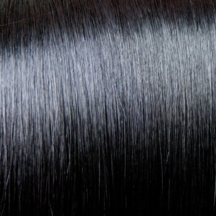 #1 Jet Black Wefts straight