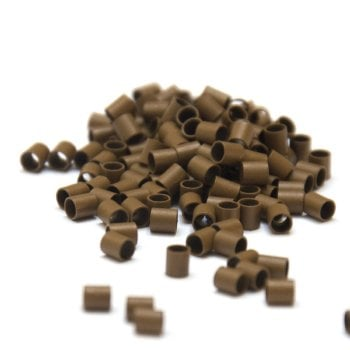Mini Copper Tubes Links for use with Mini Bonds Hair Extensions - 3mm x 2.4mm x 3mm x qty 250