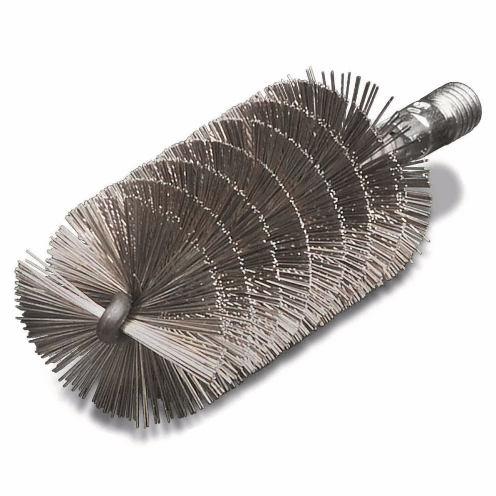<!-- 25 -->Stainless Cylinder Wire Brush 40mm x W1/2