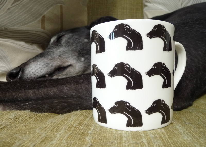 Greyhound Mug - Skozi