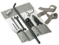 Tool Kit in Mesh Grey Canvas.   SCHTOOLKITMG