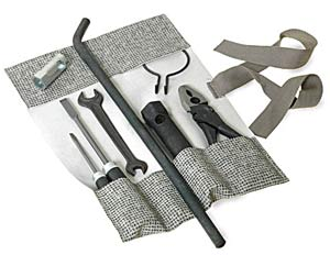 Tool Kit in Mesh Grey Canvas.   SCHTOOLKITMG