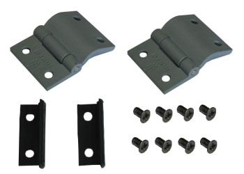Engine Lid Hinge & Treasure Chest Door Hinge, Seals & Screws Kit, All Top Quality 55-75.   261-829-551KIT