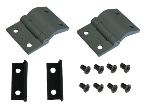 Engine Lid Hinge, Seals & Screws Ki, All Top Quality 55-75.   261-829-551KI