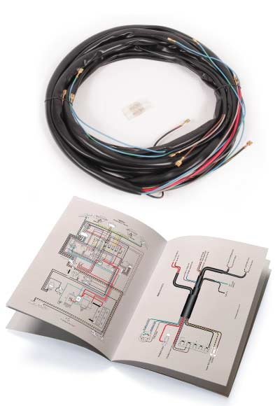 Wiring Loom, Main Loom Only 70-71.   211-971-028J