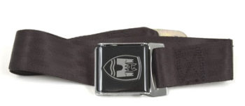 2-Point Seat Belt, Black, Black Buckle 50-79.   ZVW20BK