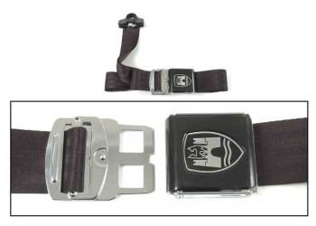 3-Point Seat Belt, Black, Black Buckle 50-79.   ZVW20ABK