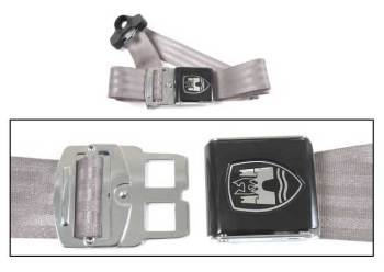 3-Point Seat Belt, Grey, Black Buckle 50-79.   ZVW20AGY