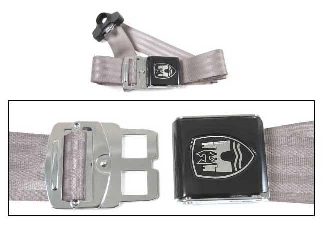 3-Point Seat Belt, Grey, Black Buckle 50-67.   ZVW20AGY