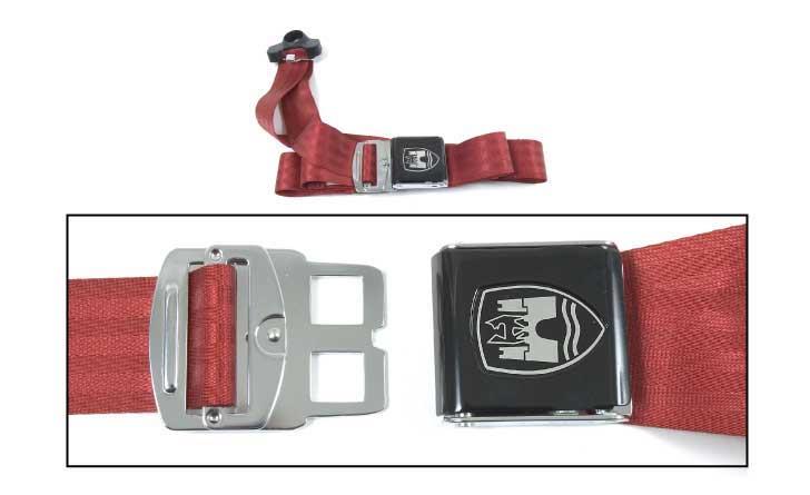 3-Point Seat Belt, Red, Black Buckle 50-67.   ZVW20ARD
