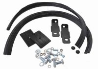Rear Bumper Splash Pan Installation Kit, Pair 59-67.   211-798-005