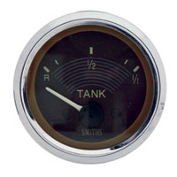 Smiths Fuel Gauge 12volt, Brown Face.   AC957073