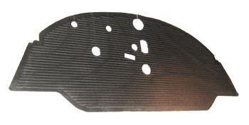 Cab Floor Mat LHD 59-67, Repro.   211-863-711ER