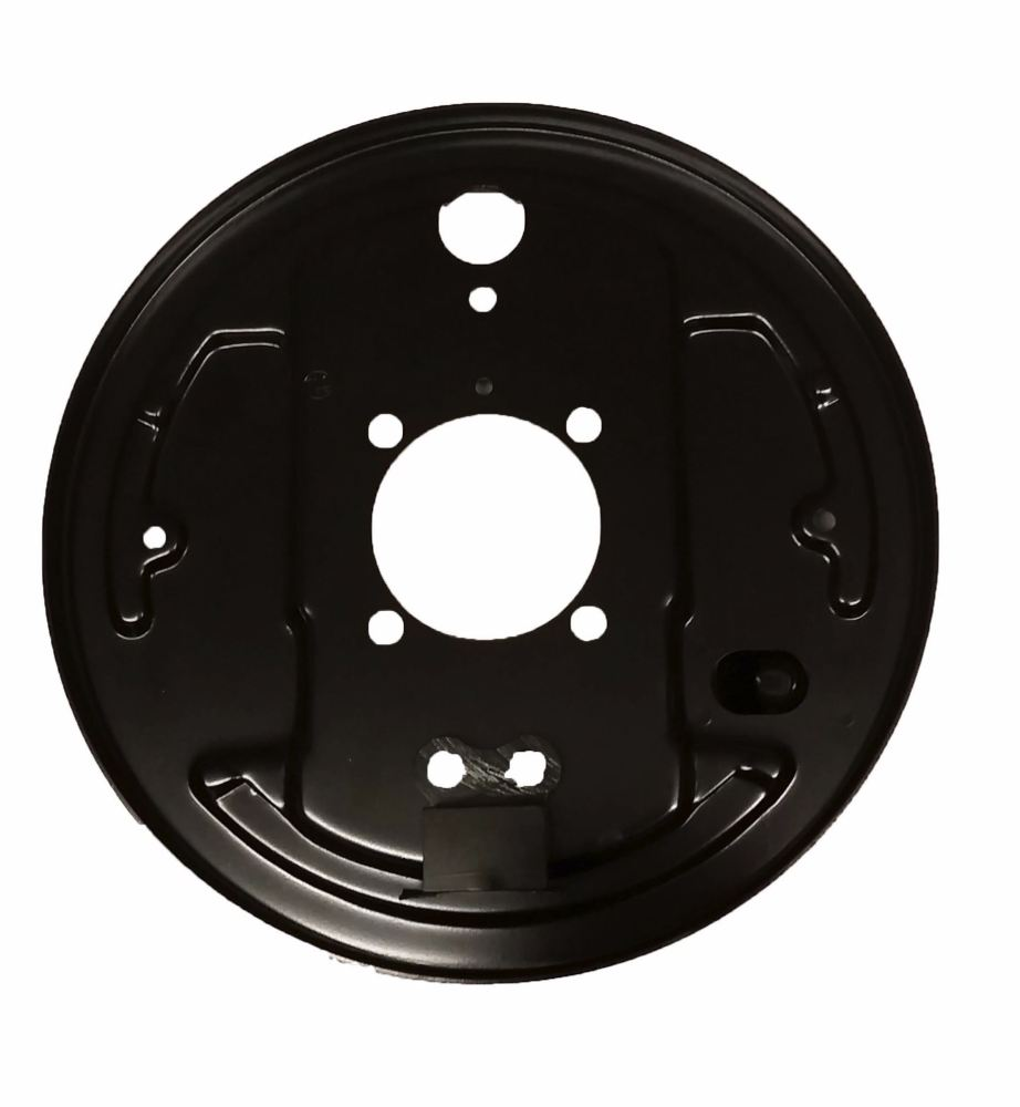 Backing Plate, Rear Left 8/63-67.   211-609-439B