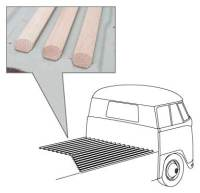Pick-up Single Cab Wood Slat Kit 52-67.   261-898-001